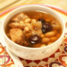 桂圆肉花生排骨汤